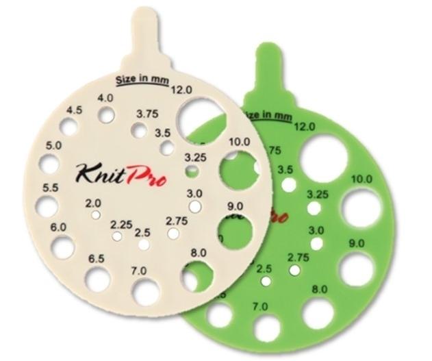 Knitpro naaldenmeter