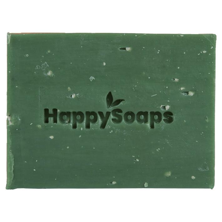 Happy Soaps- Body Bar - Citroen & Basilicum