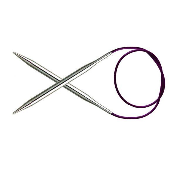 Knitpro Nova metal rondbreinaald 4.5 mm 100 cm
