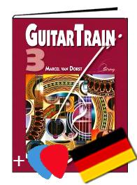 Guitar Train 3 Deutsch mit CD und Plektren