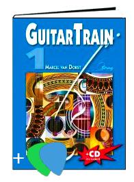 Guitar Train 1 Deutschsprachig mit CD und Plektrum