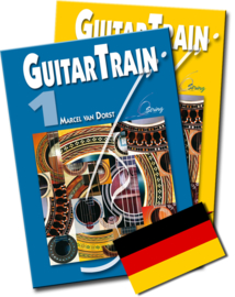 Guitar Train 1 & 2 Deutsch mit CD und 4 Plektren Versandkostenfrei