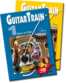 Guitar Train 1 & 2  Holland met CD en Plectrum