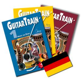 Guitar Train serie Deutsch mit CD und 6 Plektren Versandkostenfrei