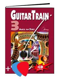 Guitar Train 3 Niederländisch mit CD und Plektren