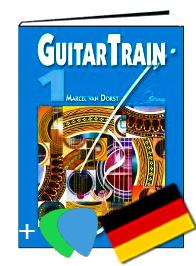 Guitar Train 1 Deutsch mit CD und Plektren