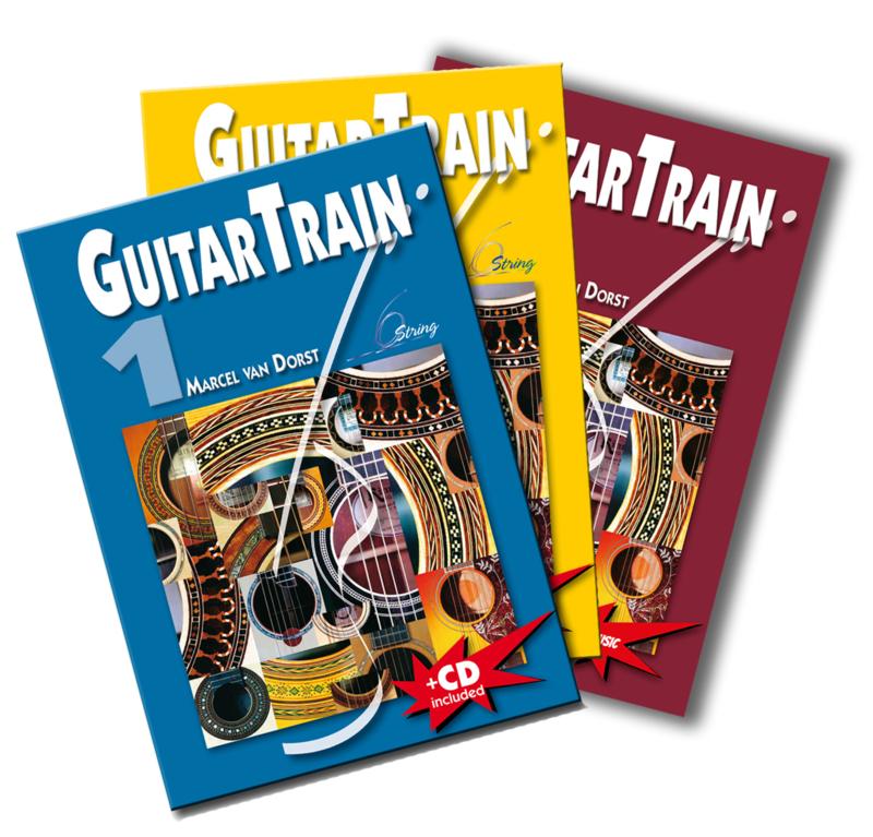GuitarTrain serie Niederländischsprachig met CD en Plectrum