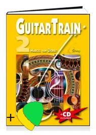 Guitar Train 2 Niederländischsprachig met CD en Plectrum