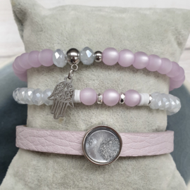 Set Purple & Grey