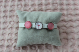 Cuoio armband wit
