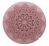 Cabochon Polaris 20mm Mandala matt Bridal rose