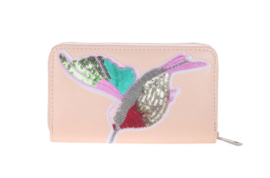 Roze portemonnee Summer Bird