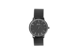 Zwart minute horloge