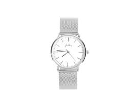 Zilver minute horloge