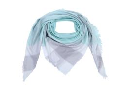 Sjaal Summer Blocks mint