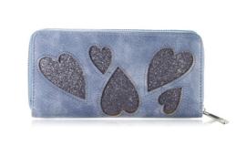 Blauwe /grijze portemonnee Sweet Heart