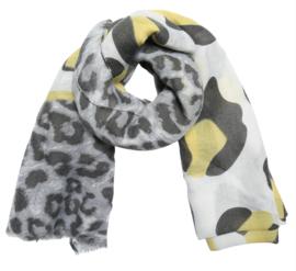 Gele sjaal wild cat