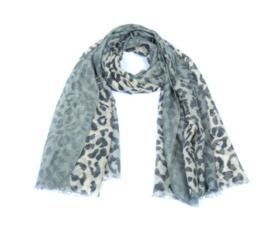 Sjaal cute animal Blauw