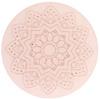 Polaris cabochon 12mm Mandala Powder pink