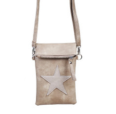 Bruine Flip Top Star Bag