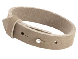 Cuioi Armband leer 15mm Sand Beige