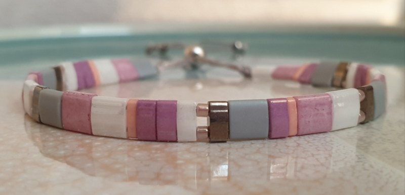 Tila Armband Lila