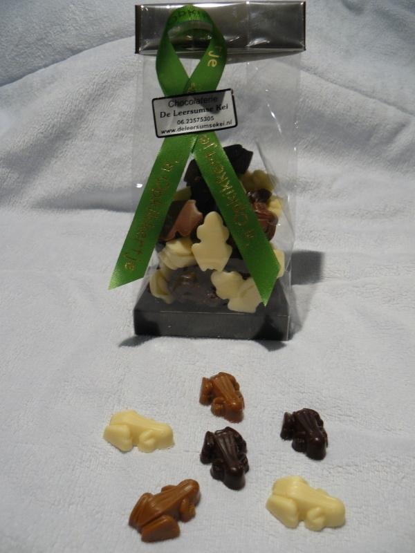Chocolade kikkertjes
