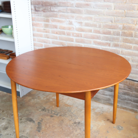 Vintage ronde tafel jaren 60
