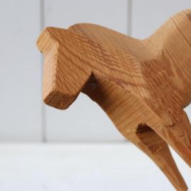 Vintage dalarna paard blank