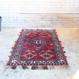 Vintage Perzisch tapijt 144 x 85