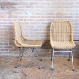 Dirk van Sliedrecht rohe eetkamer stoelen