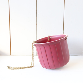 Vintage hangpot messing rood