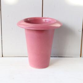 Vintage  vaas roze
