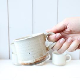 vintage aardewerk mokken