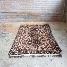 Vintage perzisch tapijt  170 x96 oranje