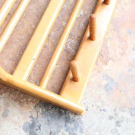 Vintage kapstok hout jaren 50