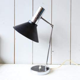 Vintage design bureau lamp zwart
