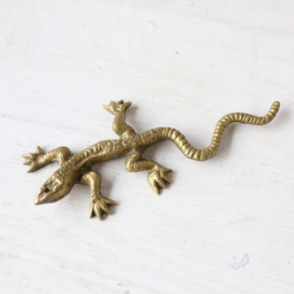 Vintage messing salamander