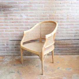 Vintage webbing fauteuil