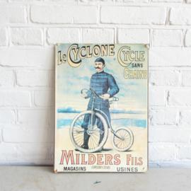Oude reclame poster