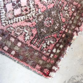 Vintage tapijt 'deurmat''