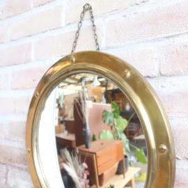 Spiegel rond messing