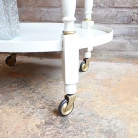 vintage trolley wit goud