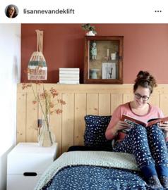 pronk kastje in de slaapkamer van Lisanne