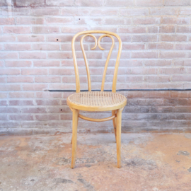 Vintage '' thonet'' stoel webbing