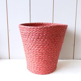 Vintage mandje rood