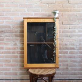 vintage vitrine kastje