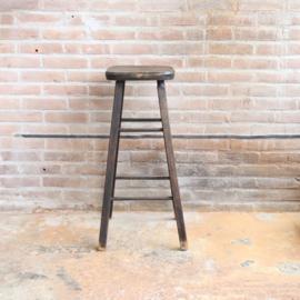 vintage barkruk / plantentafel