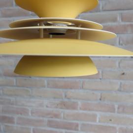 Deense hanglamp schotel geel