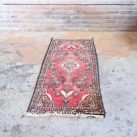 Vintage Perzische tapijt loper